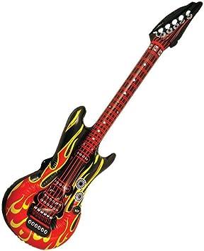 Henbrandt - Guitarra eléctrica hinchable (106 cm): Amazon.es ...