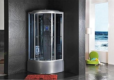 Cabina Doccia 90x90 : Cabina doccia idromassaggio sauna bagno turco amazon