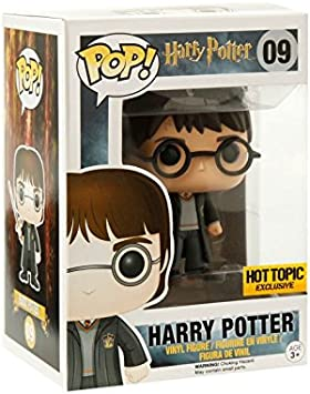 Funko - POP Vinilo Colección Harry Potter - Figura Harry Potter (5858) Multicolor, One Size