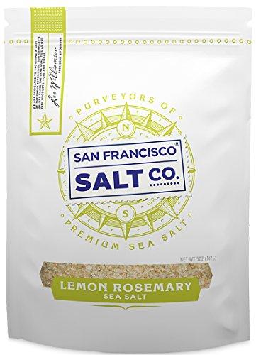 Sea Salt Rosemary - Lemon Rosemary Sea Salt (5 Ounces)