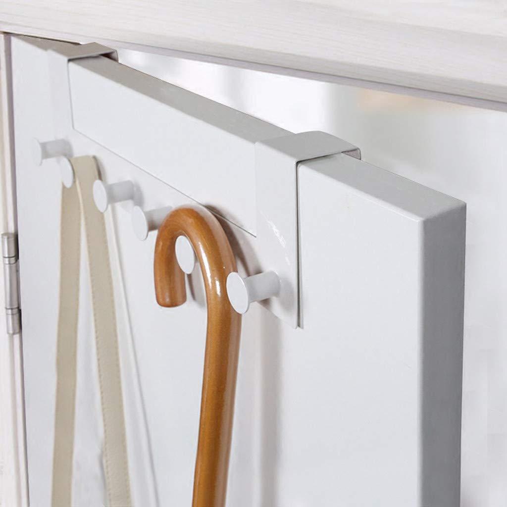 ViShow Iron Art Back Door Hanger Hook for Bathroom Kitchen Hanger Towel Clothes Door Rack,Easy Install Space Saving Bathroom Hooks by ViShow (Image #6)