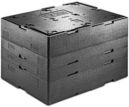 EPP-Thermobox Multi Max - Caja térmica para accesorios (altura interior de 10 cm), color negro: Amazon.es: Industria, empresas y ciencia