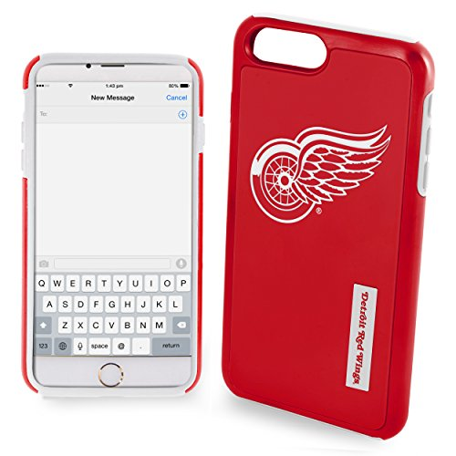 FOCO Detroit Red Wings Impact Dual Hybrid Ai7/8 Cover - TPU - Large