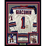 Framed Autographed Signed Eddie Giacomin