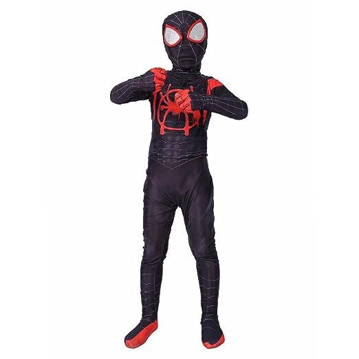 KYOKIM Disfraz De Spiderman Infantil Cosplay De Halloween Traje ...