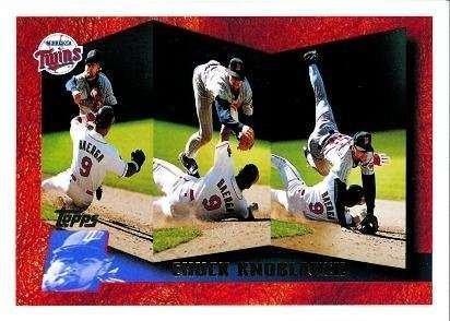 1996 Topps #248 Chuck Knoblauch - Minnesota Twins Baseball Cards