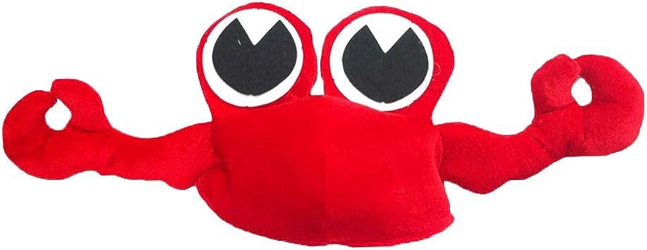 Amosfun Sombrero de Cangrejo Animal Style Headwear Disfraces de ...