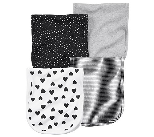 Carter's Baby Girls' 4-Pk. Burp Cloths None
