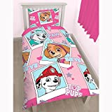 Character Paw Patrol 'Stars' Reversible Rotary Single Duvet Cover