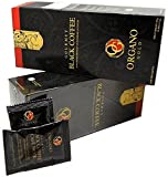 7 Boxes Organo Gold Gourmet Cafe Noir, Black Coffee 100% Certified Ganoderma Extract Sealed (1 Box of 30 Sachets)