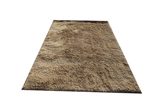 Noble House ALE10257 Ales Area Rug, 5 x 7' , Beige (Rug Shagg)