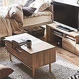 ソファーに座って使えるドレッサーテーブル ホワイト ナチュラル
