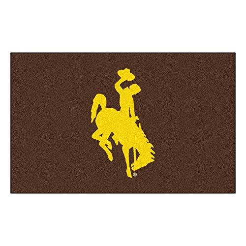 FANMATS NCAA University of Wyoming Cowboys Nylon Face Ultimat ()