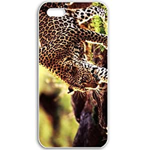 Apple iPhone 5 5S Cases Customized Gifts For Animals cheetah Animals Birds Black