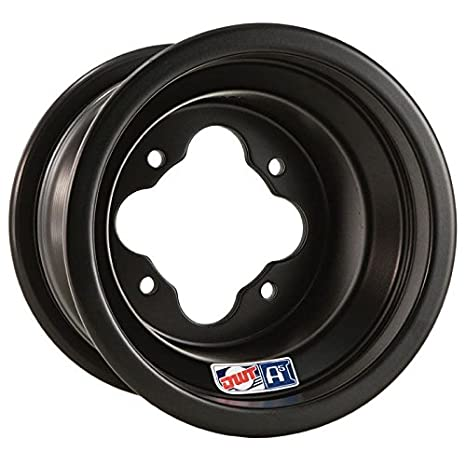DWT A5 negro 10 x 8 4/115 3 + 5 Quad ruedas de aluminio: Amazon.es: Coche y moto