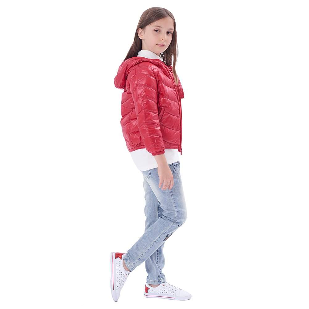 PANLTCY Baby Boys Girls Winter Hooded Down Jacket Lightweight Puffer Coat 3979