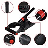 GEZICHTA Wrist and Forearm Developer,Wrist and Forearm Developer Arm Machines Exercise Machine Exerciser Muscle For Use Home Gym(black)