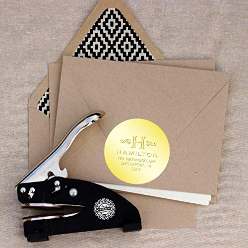 Three Designing Women Foil Seals for Designer Embosser, Gold ()