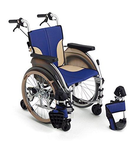 MiKi(ミキ)アルミ製自走型車椅子 【新スキット】SKT-500 コンパクト6輪 (シート色:レッド) B071DGGCVN シート色:レッド シート色:レッド