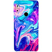 Gadgets Wrap Redmi Note 5 Pro Vinyl Fibre Only Back Customised Mobile Skin - Watercolour Effect-co-