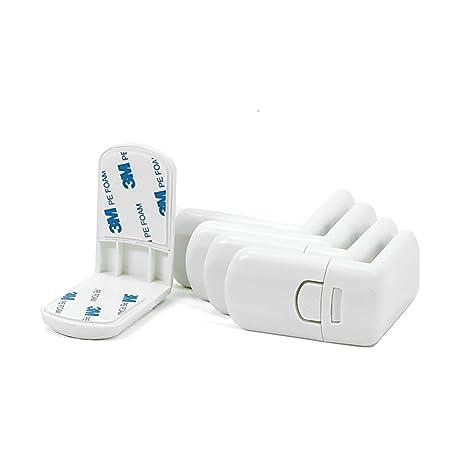 20 Stk Offgridtec Eckkantenschutz rund Kindersicherung mit integriertem Klebeband
