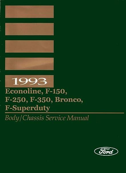 ford f250 repair manual 93