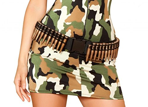 Sexy Military Fake Bullet Belt Halloween (Military Bullet Belt)