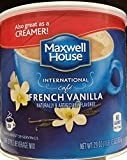 Maxwell House International Cafe French Vanilla 29oz (Pack of 4)
