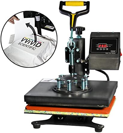 VViViD Digital Heat Press 10 x 12 Flat Garment Sublimation Machine