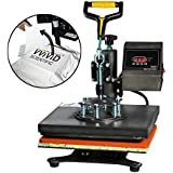 "VViViD Digital Heat Press 10"" x 12"" Flat Garment Sublimation Machine"