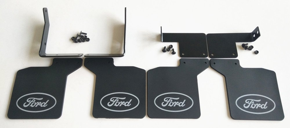 1:10 RC Front + Rear Mud Flaps Rubber Fender for Traxxasss TRX4 Ford Bronco Ranger CrazyRacer
