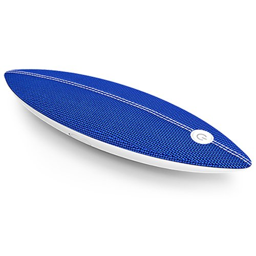 AOMAIS SURF Touch Bluetooth Speakers, Portable Wireless IPX7 Waterproof Floating Bluetooth Speaker with 16W Deep Bass, Stereo Pairing, Durable for Swimming Pool, Beach, Shower, Travel(Blue)