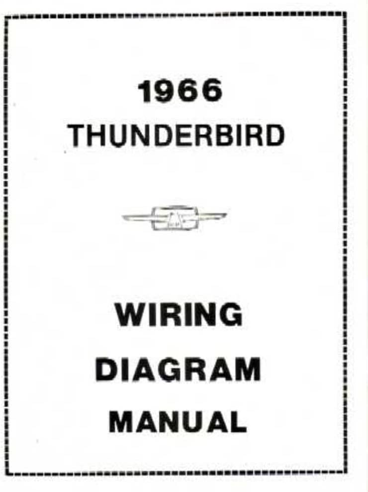 [DIAGRAM_38EU]  Amazon.com: bishko automotive literature 1966 Ford Thunderbird Electrical  Wiring Diagrams Schematics Manual Book Factory: Automotive | 1966 Ford Wiring Diagram Schematic |  | Amazon.com