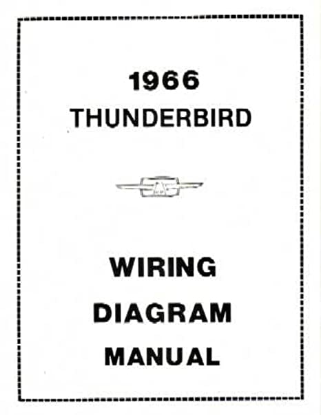 amazon com bishko automotive literature 1966 ford thunderbird rh amazon com Ford Electrical Wiring Diagrams Chevy Wiring Diagrams