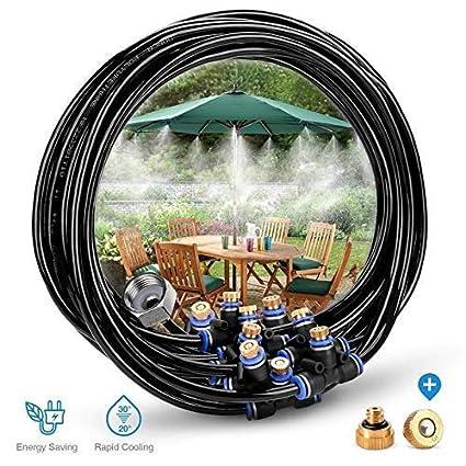 23 m/ètres la Piscine HAVIT Syst/ème dirrigation Syst/ème de brumisateur ext/érieur Syst/ème de Refroidissement par Eau r/églable pour Les Jardins de Serre la tonnelle