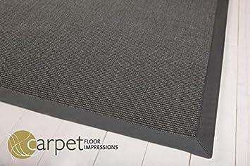 sisal küchen teppich mexico (041045 dunkelgrau bodüre dunkelgrau ... - Teppiche Für Küche