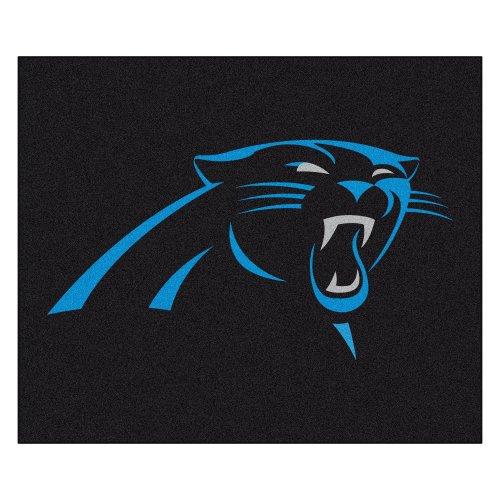 FANMATS NFL Carolina Panthers Nylon Face Tailgater Rug