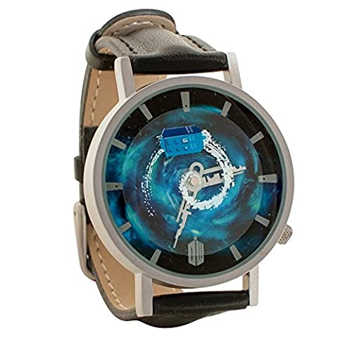 Doctor Who Tardis Whovian Gear Unisex Analog Watch (Vegan Leather Watch Man)