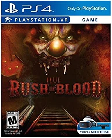 Sony Until Dawn Rush Blood PS4 VR Básico PlayStation 4 vídeo ...