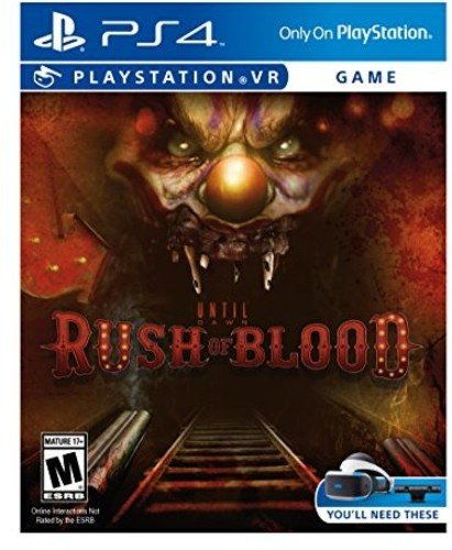 Until Dawn Rush Blood PlayStation 4 product image