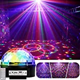 YouOKLight Sound Activated 9 Color LED Music Crystal Magic Ball MP3 Disco DJ