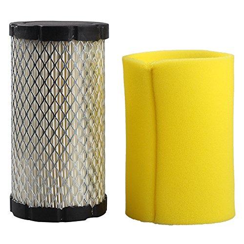 (Harbot Air Filter with Pre-Cleaner for Craftsman YT3000 YS4500 LT2000 Yardman RZT42 RZT50 Husqvarna YTA18542 MTD Lawn Mower)