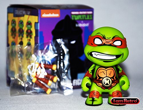 Kidrobot Teenage Mutant Ninja Turtles Series 2 TMNT Shell Shock Michelangelo 3