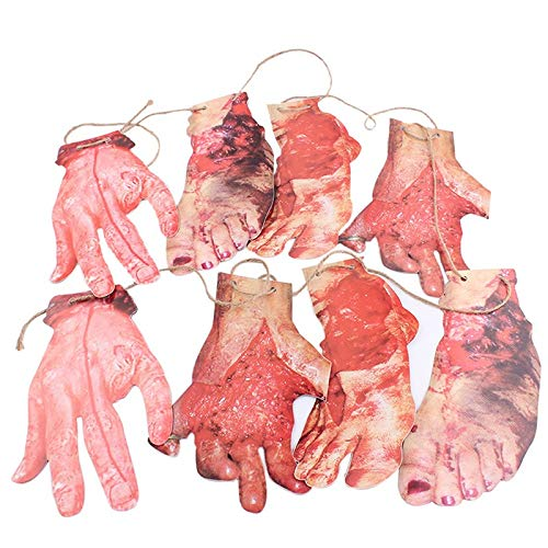 Party Diy Decorations - 8pcs 6pcs Broken Hands Fake Body Parts Halloween Costumes Bloody Horror Haunted House Prop Shipping - Decorations Party Party Decorations Horror Girl Halloween -
