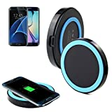 Wireless Charger; A-store Qi Wireless Charging Pad for Galaxy S7,Galaxy S7 edge, Galaxy S6,Note 5,S6 Edge+,S6 Edge, Nexus 4/5/6 and All Qi-Enabled Devices (Blue)