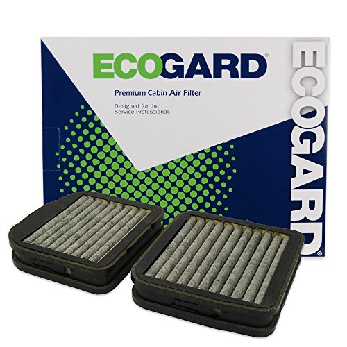 ECOGARD XC35520C Cabin Air Filter with Activated Carbon Odor Eliminator - Premium Replacement Fits Mercedes-Benz E320, S430, S500, E430, E420, E300, CL500, S55 AMG, E55 AMG, S600, CL55 AMG, S350 (Cl55 Amg)