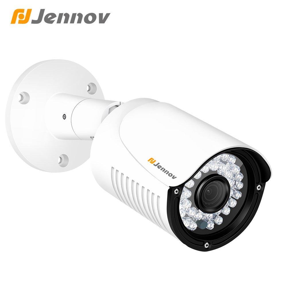 amazon com jennov poe ip security camera hd 4mp outdoor indoor