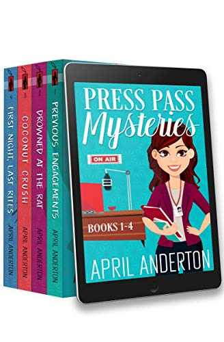 Press Pass Mysteries: Books 1-4 Box Set by [Anderton, April]