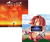 Lion King 1 and 2 - Movie Soundtrack Bundling - 2 CDs - Lion King S.E. and Lion Kings Simba s Pride
