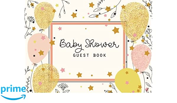 Keepsake Message Log Baby Shower Guest Book: Baby Shower Guestbook and Gift log Advice for Parents and Wishes for Baby